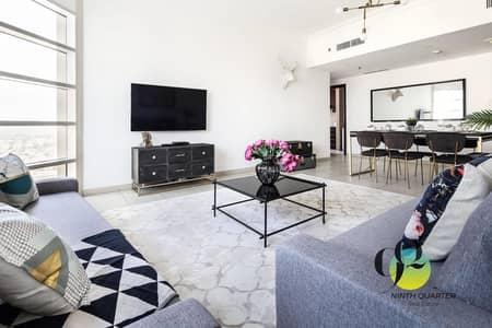 2 Bedroom Flat for Rent in Jumeirah Lake Towers (JLT), Dubai - Stylishly Furnished I 2BHK I LakeShore I JLT