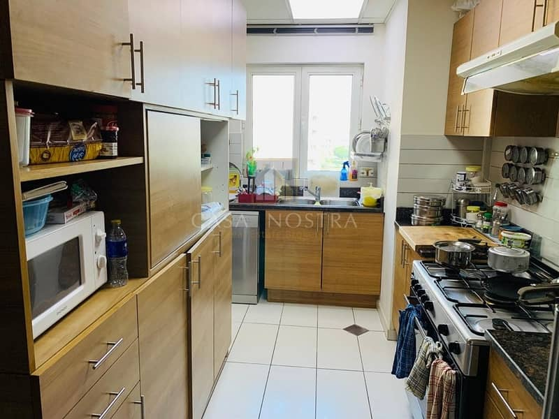 2 Furnished 3BR+M Facing to Garden I Closed Kitchen