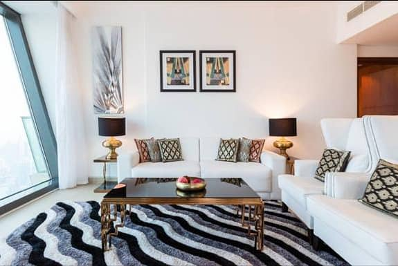 Multiple Options Available 3 BR Furnished with Burj Khalifa View in Burj Vista
