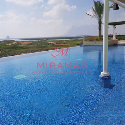 3 Bedroom Flat for Sale in Yas Island, Abu Dhabi - EXCELLENT DEAL!!! GOLF VIEW AND SEA VIEW!! LARGE BALCONY! 3B+MAIDS