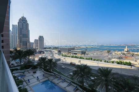 2 Bedroom Flat for Sale in Dubai Marina, Dubai - 2BHK + Maid's Room w/ Sea View for Sale!