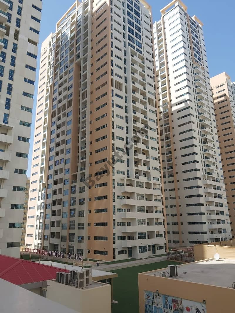 FOR RENT: 1BHK+2 BATH CLOSE KITCHEN PARKING OPEN VIEW IN AJMAN ONE TOWER