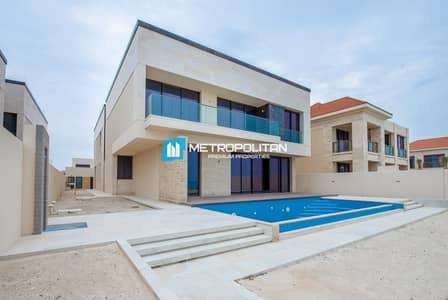 فیلا 7 غرف نوم للايجار في جزيرة السعديات، أبوظبي - Beach Villa 7 bedroom with swimming pool for rent