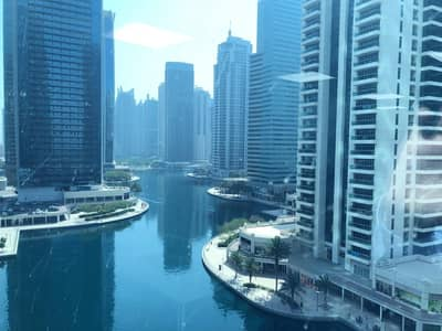 Office for Sale in Jumeirah Lake Towers (JLT), Dubai - FURNISHED|PARTITIONED|FULL LAKE VIEW|DIRECT FROM OWNER