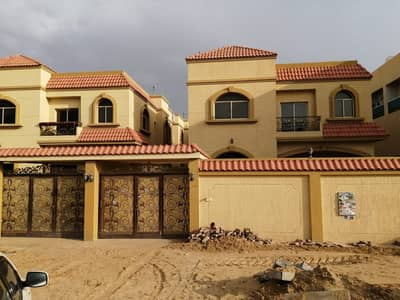 Wonderful design villa large area and close to all services in the finest areas of Ajman for rent for all nationalities