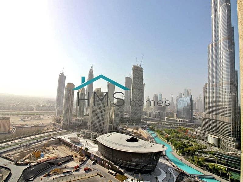Burj Khalifa & Sea View | Spacious | High Quality