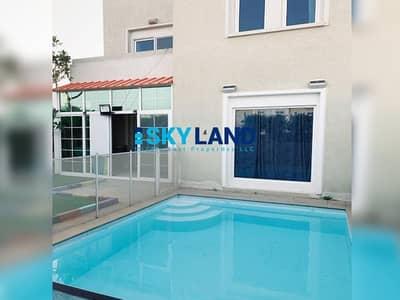 فیلا 5 غرف نوم للبيع في الريف، أبوظبي -  CORNER w/ Landscaped Garden and Fenced Pool
