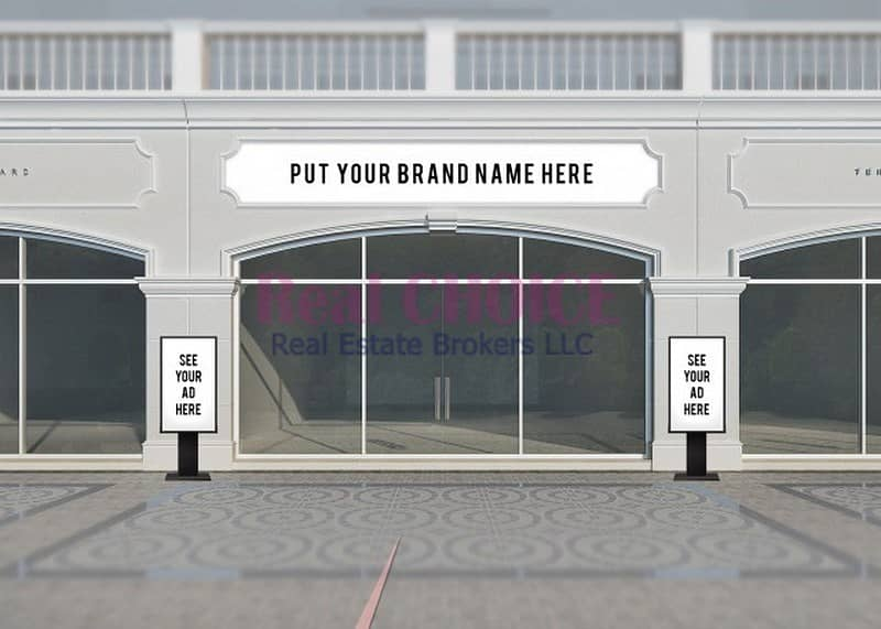 2 RIGHT ON MAIN BROAD WAY | LOCATION FOR BRAND RETAILER