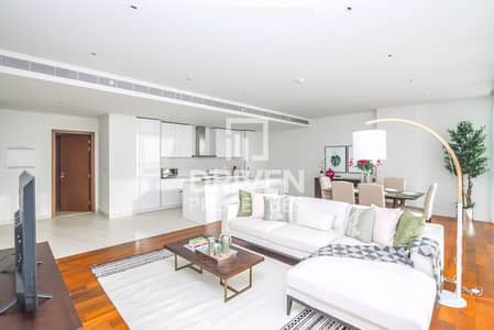 3 Bedroom Apartment for Rent in Jumeirah, Dubai - Beautifully Furnished in High floor level