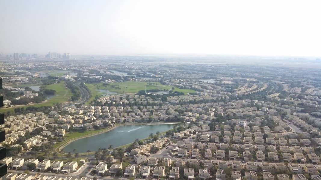 Golf course view 2bhk lake shore 70k