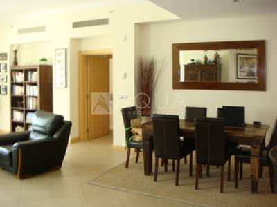 3 Bedroom Flat for Rent in Palm Jumeirah, Dubai - Sea view | 3 BR + Maid | Vacant 1st of July