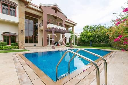 فیلا 5 غرف نوم للبيع في جزر جميرا، دبي - Negotiable | Private Corner Plot With Pool | JI