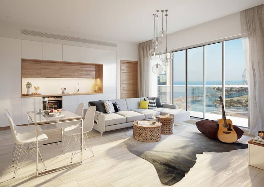 22 Stylish 2BR Apartment for sale in Dubai Marina | Easy Payment Plan with 5% Down Payment | Overlooking Dubai Marina