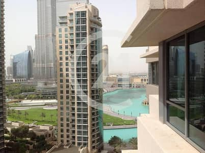2 Bedroom Apartment for Rent in Downtown Dubai, Dubai - Fountain and Burj Khalifa View | 2 BR |Boulevard.