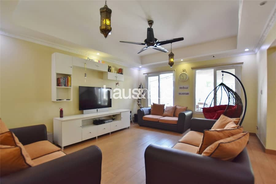 Pool and park view  Upgraded 2M  3BR +Study +Maids
