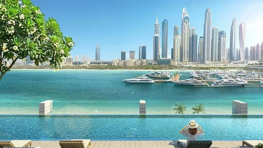 2 Bedroom Apartment for Sale in Dubai Harbour, Dubai - Private Island |Pay in 4 Yrs | MOVE  in 1 Year|Sea view | Beach