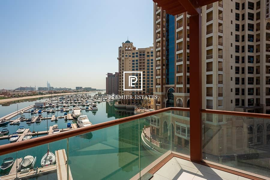 Available Immediately|Sea Views|Unfurnished Studio