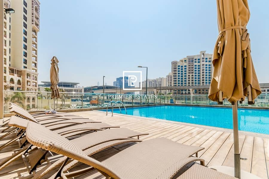 10 Available Immediately|Sea Views|Unfurnished Studio