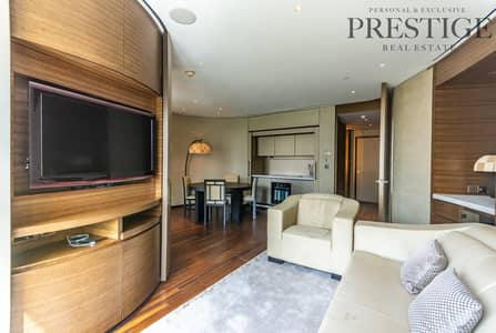 1 Bedroom Flat for Rent in Downtown Dubai, Dubai - Armani Residence I 1 bedroom with Study area I Furnished I Bills included