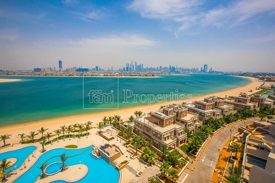 18 Rare Unit | Full Palm View | 5* Facilities