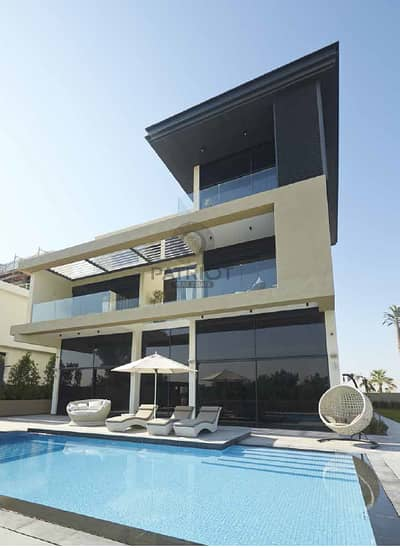 6 Bedroom Villa for Sale in Wasl Gate, Dubai - Ultra Modern Villa in the Heart of JGE | Golf course view
