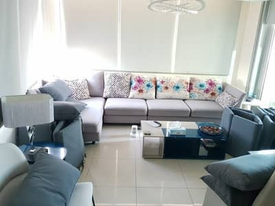 3 Bedroom Flat for Rent in Dubai Marina, Dubai - Huge Terrace Furnished  | Chiller Free