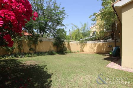 3 Bedroom Townhouse for Rent in Arabian Ranches, Dubai - Landscaped Garden | Single Row | 3 Bedroom