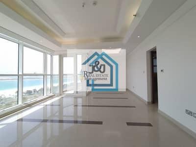 فلیٹ 2 غرفة نوم للايجار في منطقة الكورنيش، أبوظبي - Stylish 2 Bedroom with maid room Sea view Apartment