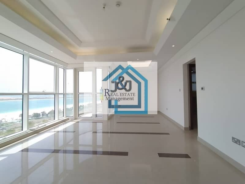 Stylish 2 Bedroom with maid room Sea view Apartment