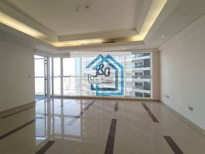 3 Bedroom Flat for Rent in Corniche Area, Abu Dhabi - Stylish 3 Bedroom with maid room City view Apartment Corniche Area