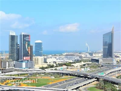 Large unit w/ Maid's room | Marina & Skyline Views
