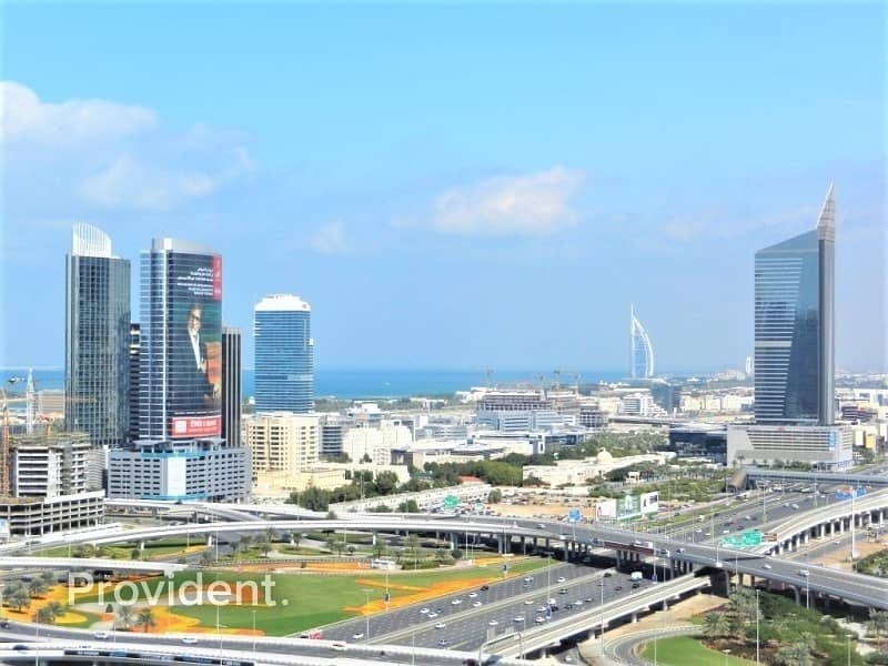 1 Large unit w/ Maid's room | Marina & Skyline Views
