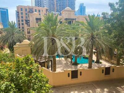 1 Bedroom Apartment for Rent in Old Town, Dubai - Pool View | Quiet | Well Maintained 1 Bedroom