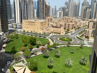 1 Bedroom Flat for Sale in Downtown Dubai, Dubai - Mid Floor with Community Park View | Vacant