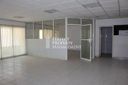 مکتب  للايجار في راك سيتي، رأس الخيمة - Huge office space for rent in a prime location near pearl round about