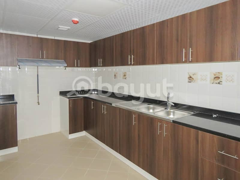 2 New 2BR | City Centre Sharjah view | Huge Space