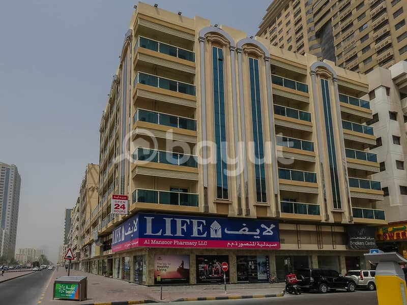 23 New 2BR | City Centre Sharjah view | Huge Space