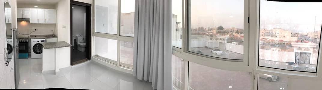 Studio for Rent in Khalifa City A, Abu Dhabi - Spacious Vintage Studio | W/ Utilities