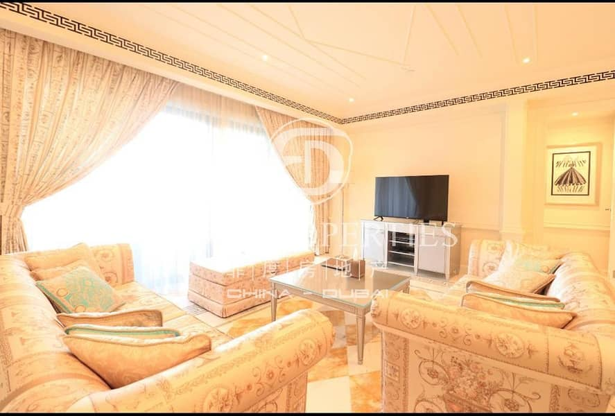Luxury 2 Beds Fully Furnished in Palazzo Versace