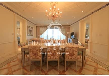 شقة 2 غرفة نوم للايجار في قرية التراث، دبي - Luxury 2 Beds Fully Furnished in Palazzo Versace