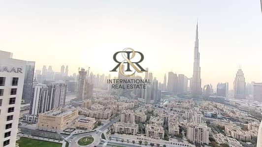 3 Bedroom Flat for Rent in Downtown Dubai, Dubai - With 360 Video Tour | Available also for 6 months | Burj Khalifa View