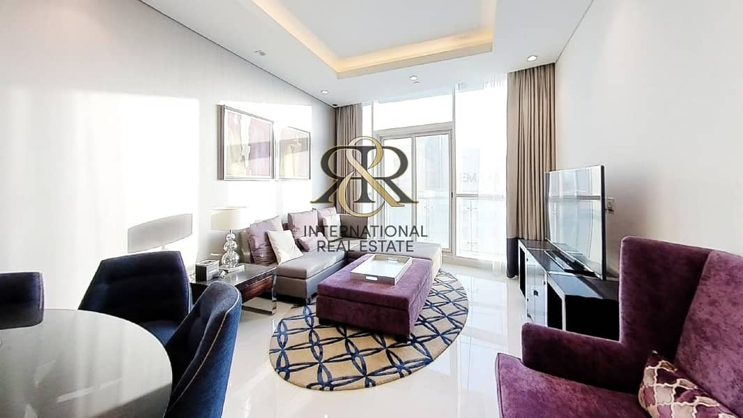 2 With 360 Video Tour | Fully Furnished 3 Bedrooms High Floor I Luxury Apartment