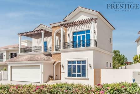 فیلا 6 غرف نوم للبيع في عقارات جميرا للجولف، دبي - Golf View Luxury Villa 9412 sq.ft over 3 floors
