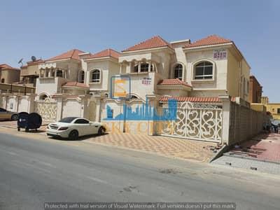 5 Bedroom Villa for Sale in Al Rawda, Ajman - villa for sale direct on asphalt road direct from owner
