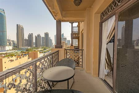 1 Bedroom Flat for Rent in Old Town, Dubai - Large 1 bed   Chiller Free   Upgraded