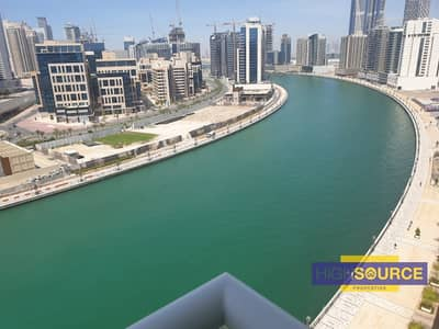 1 Bedroom Apartment for Rent in Business Bay, Dubai - Fantastic 1 BHK |Canal & Burj Khalifa View |with Kitchen appliances| mayfair Residency.