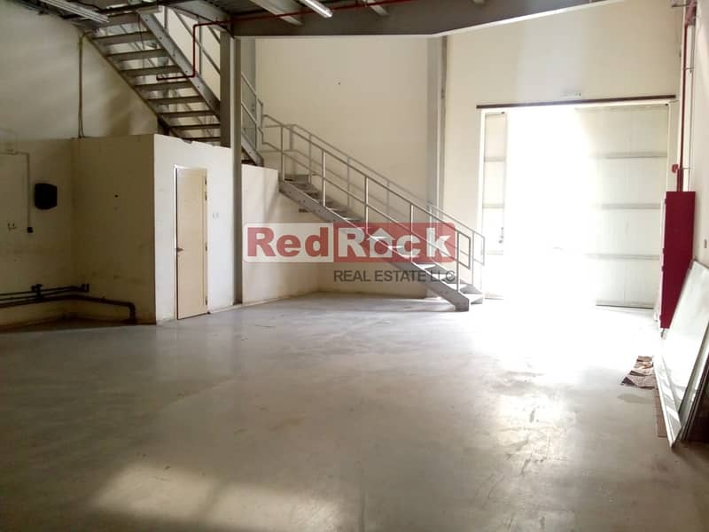 You Read it Correct  8 Cheques 30 Days for Tidy 2690 Sqft Warehouse in Jebel Ali
