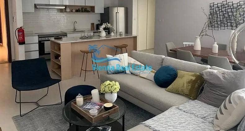 6 Hot deal 2 Bedroom  plus maids room in Sky Tower for RENT
