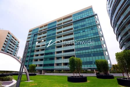 1 Bedroom Flat for Rent in Al Raha Beach, Abu Dhabi - Prestigious Residence w/ Sea Views and 2 Payments