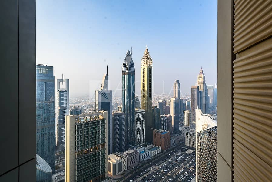 11 Spacious & High Floor | Vacant | DIFC View